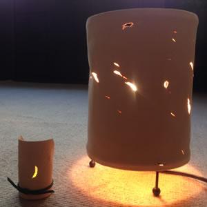 猪革ランプ